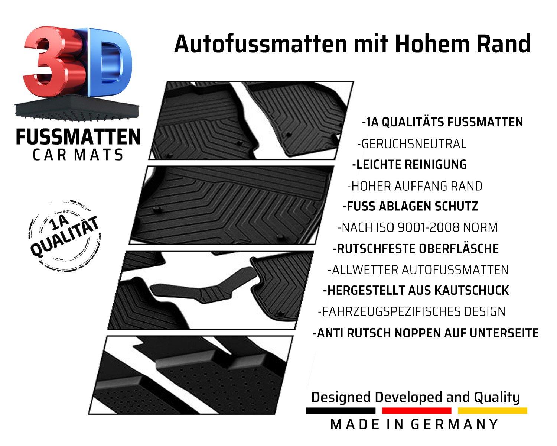 NEU Gummi Fussmatten Opel Insignia ab 2008 Original Qualität Auto Gummimatten